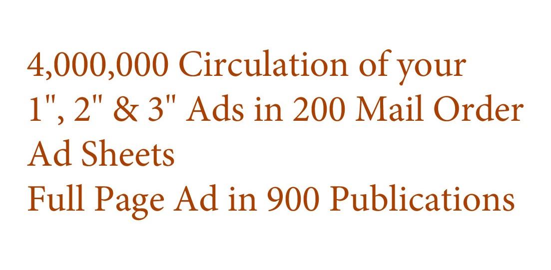 Four Million Ad Circulation1